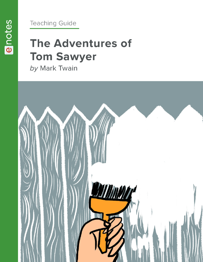 the adventures of tom sawyer enotes teaching guide preview image 1