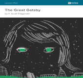 The Great Gatsby eNotes Lesson Plan book cover