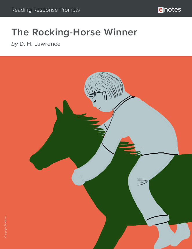 the rocking-horse winner enotes reading response prompts preview image 1