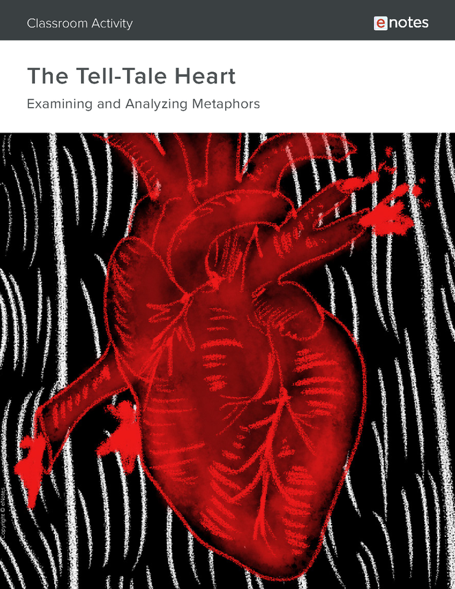 the tell-tale heart metaphor activity preview image 1
