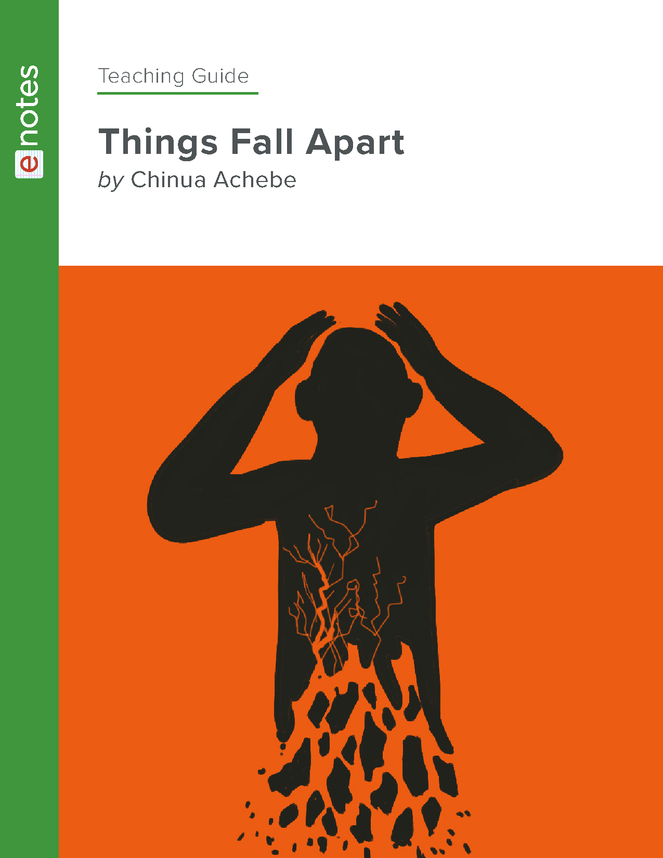 things fall apart enotes teaching guide preview image 1