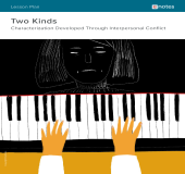 Two Kinds Character Analysis Lesson Plan book cover