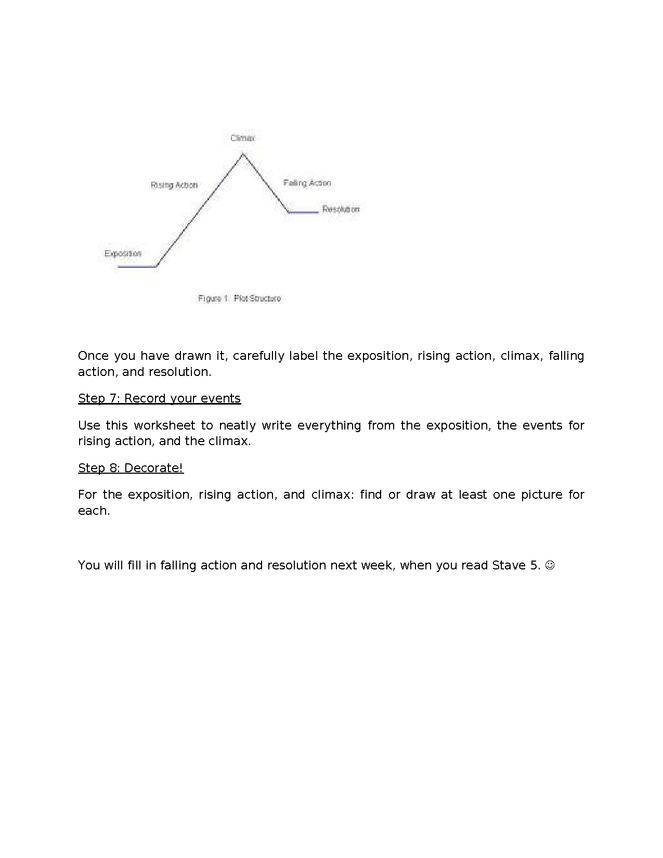 a christmas carol end of book activity: plot diagram preview image 4