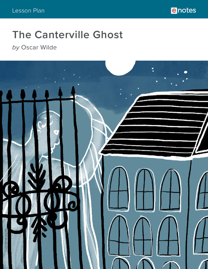 the canterville ghost enotes lesson plan preview image 1