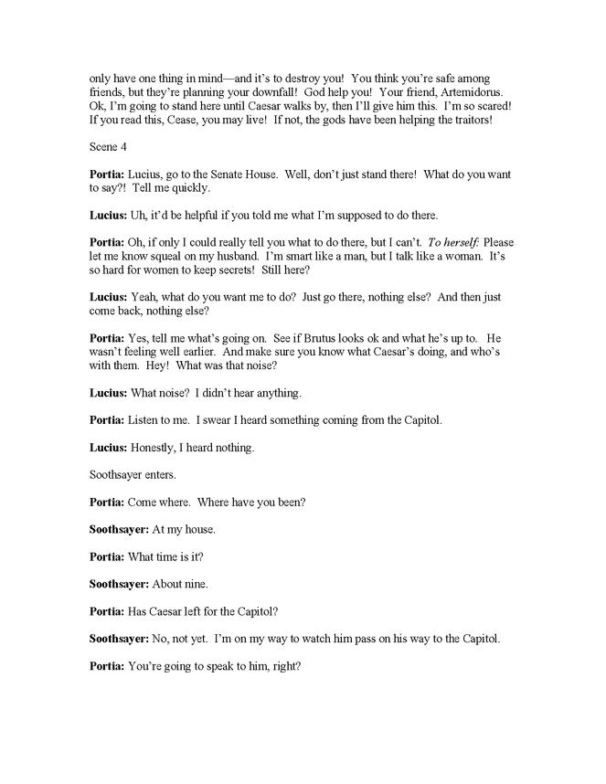 modern english translation of julius caesar, act ii, scenes 2-4 preview image 4