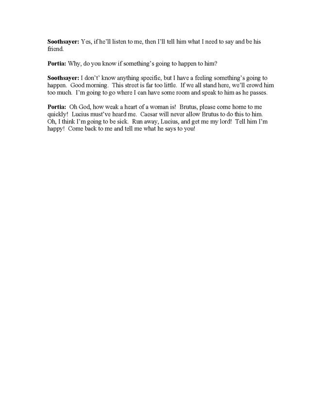 modern english translation of julius caesar, act ii, scenes 2-4 preview image 5