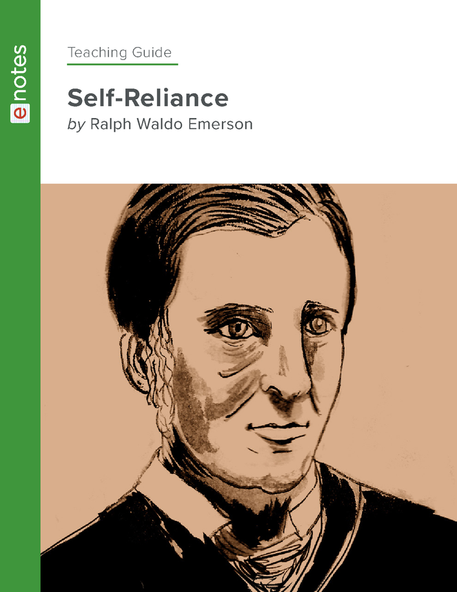 self-reliance enotes teaching guide preview image 1