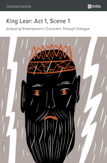 Cover image of King Lear Act 1 Scene 1 Dialogue Analysis Activity
