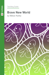 Cover image of Brave New World eNotes Teaching Guide