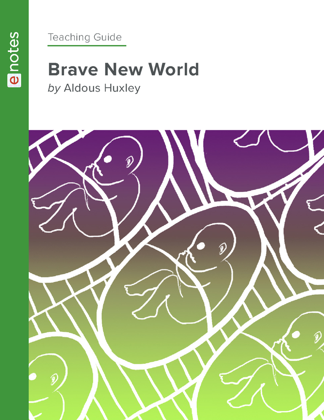 brave new world enotes teaching guide preview image 1