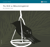 To Kill a Mockingbird eNotes Lesson Plan book cover