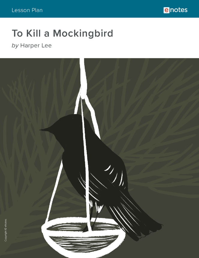 to kill a mockingbird enotes lesson plan preview image 1