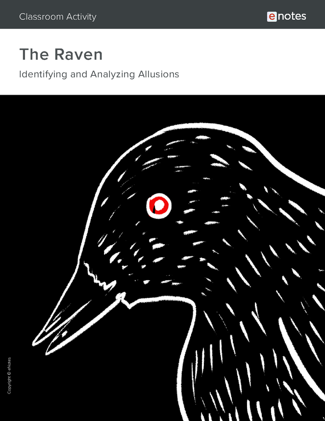 the raven allusion activity preview image 1