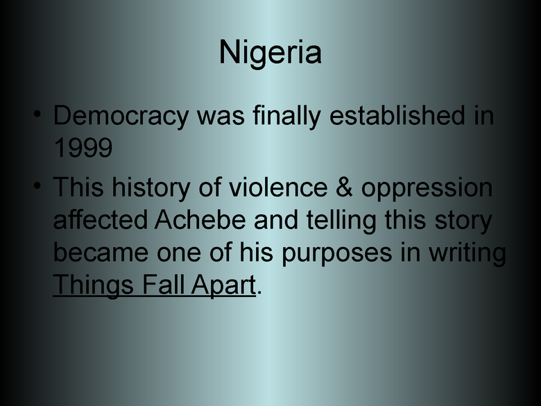 things fall apart: introduction powerpoint preview image 6