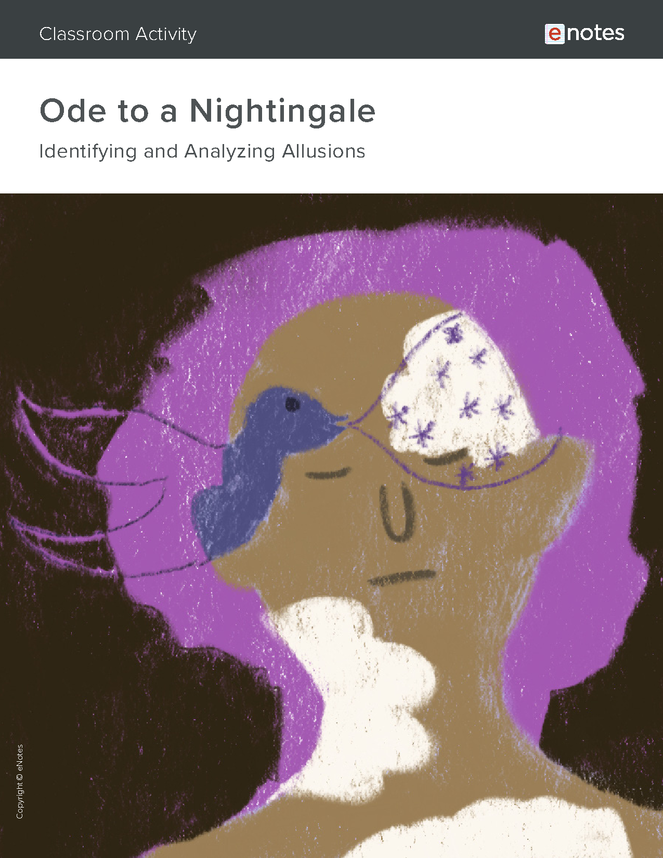 ode to a nightingale allusion activity preview image 1