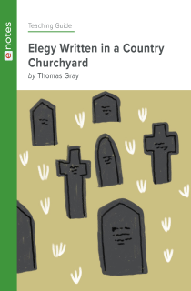 Cover image of Elegy Written in a Country Churchyard eNotes Teaching Guide