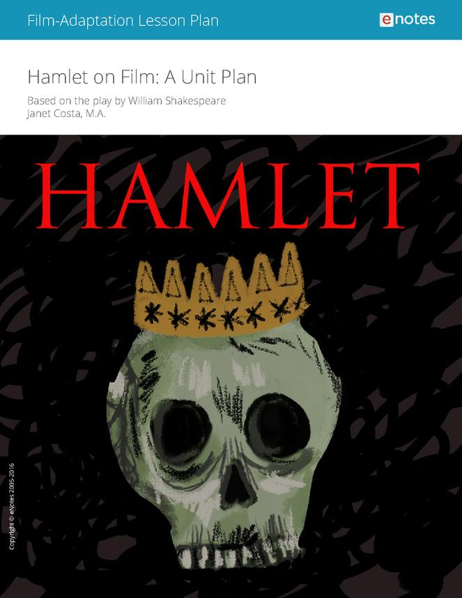 hamlet on film lesson plan preview image 1