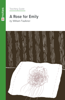 Cover image of A Rose for Emily eNotes Teaching Guide
