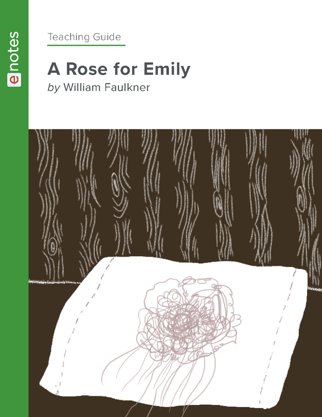 a rose for emily enotes teaching guide preview image 1