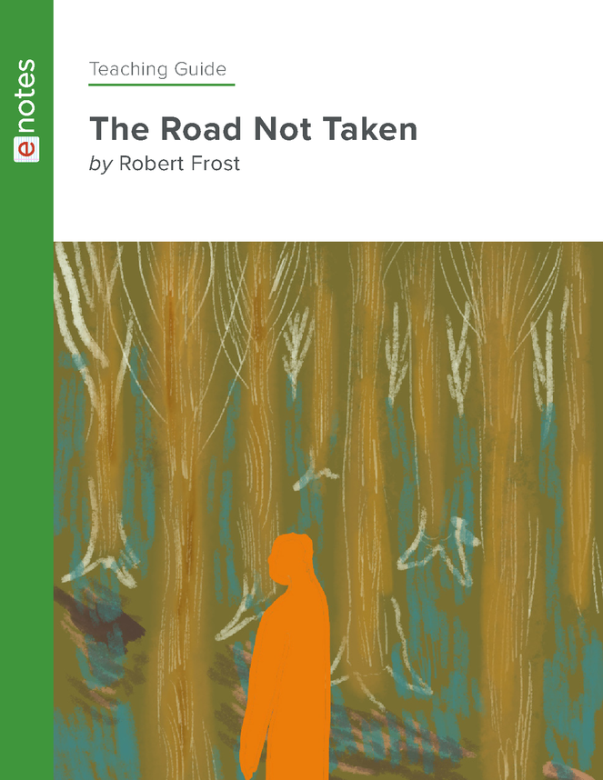 the road not taken enotes teaching guide preview image 1