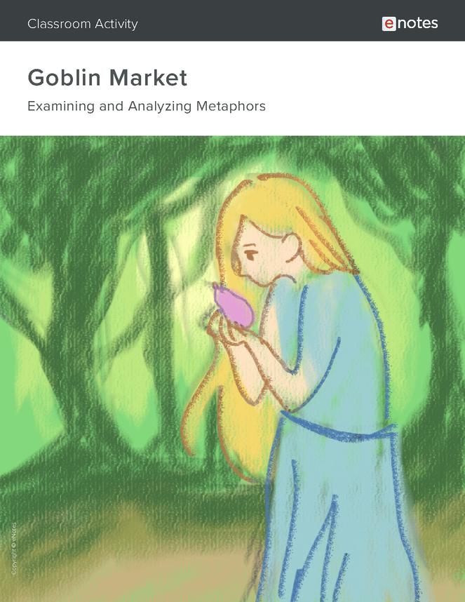 goblin market metaphor activity preview image 1
