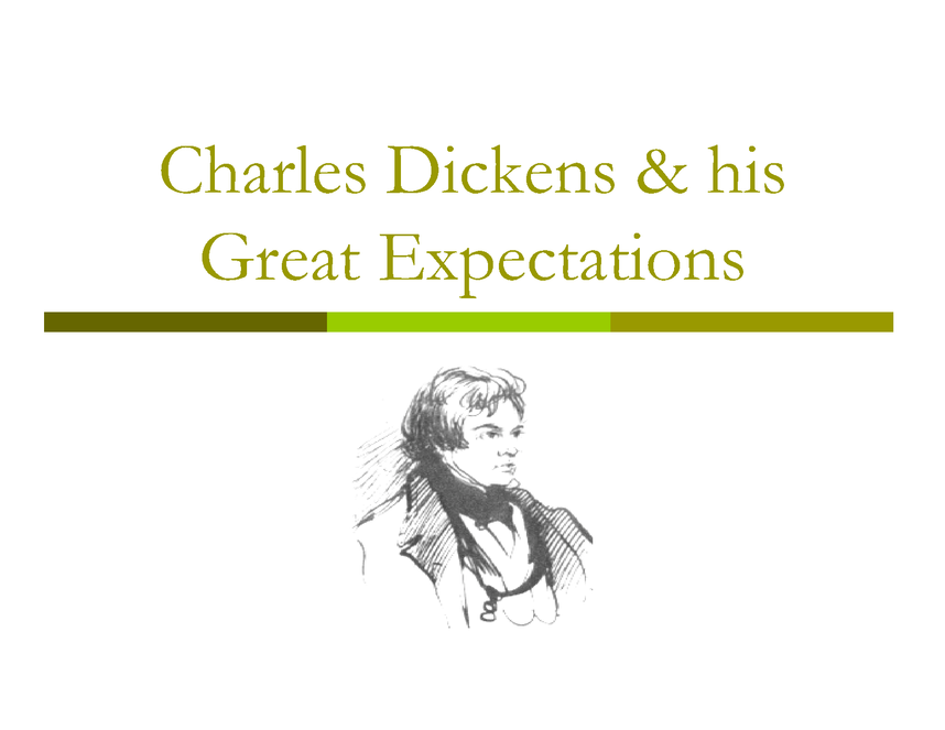 charles dickens and great expectations preview image 1