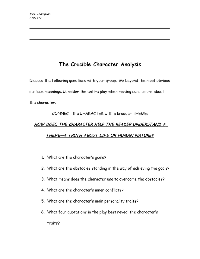 the crucible: character poster preview image 2