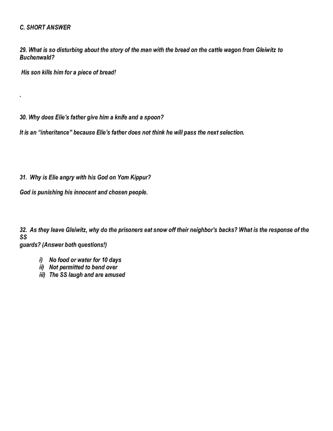 night quiz/answer key p. 63-end preview image 5