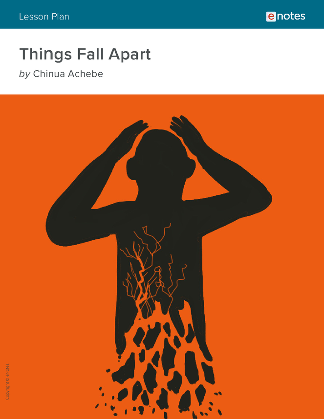 things fall apart enotes lesson plan preview image 1